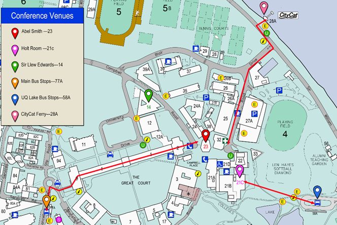 Uq St Lucia Map 15th IEEE International Conference on Mobile Data Management, IEEE